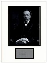 Richard Strauss Autograph Signed Display